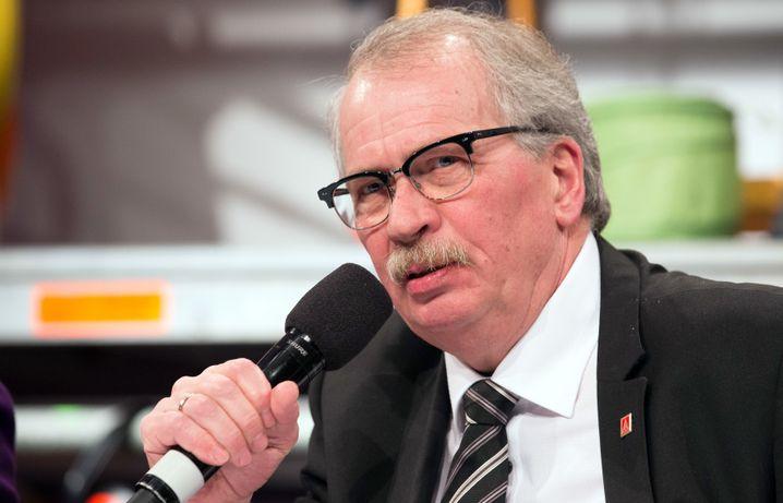 ThyssenKrupp-Betriebsratschef Segerath: Will die Jobs von Tausenden Stahlarbeitern sichern - und die Mitbestimmung im Unternehmen.