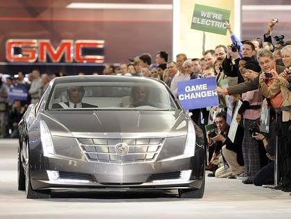 Cadillac Converj, Elektroauto für die Zukunft: Zunächst einmal wird GM Stellen streichen