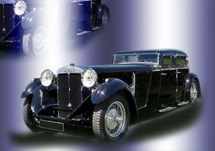 Vermischte Traditionen: Ein klassischer Daimler Double Six von 1930 mit 12 Zylindern und 7,1 Litern Hubraum. Der englische Autobauer wurde von Jaguar gekauft