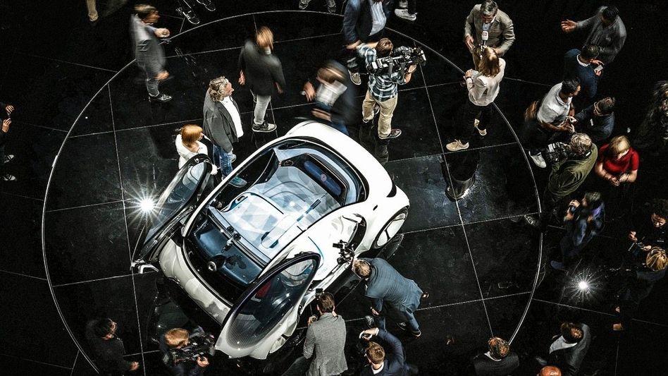 Kleine Lösung: Daimlers Smart als autonomes Versuchsfahrzeug