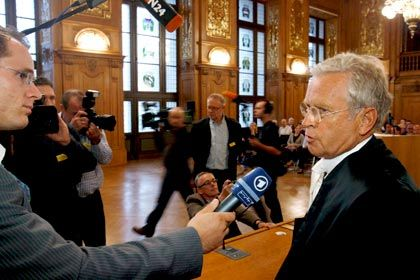 Forderte, das Urteil aufzuheben: Volkert-Verteidiger Schwenn