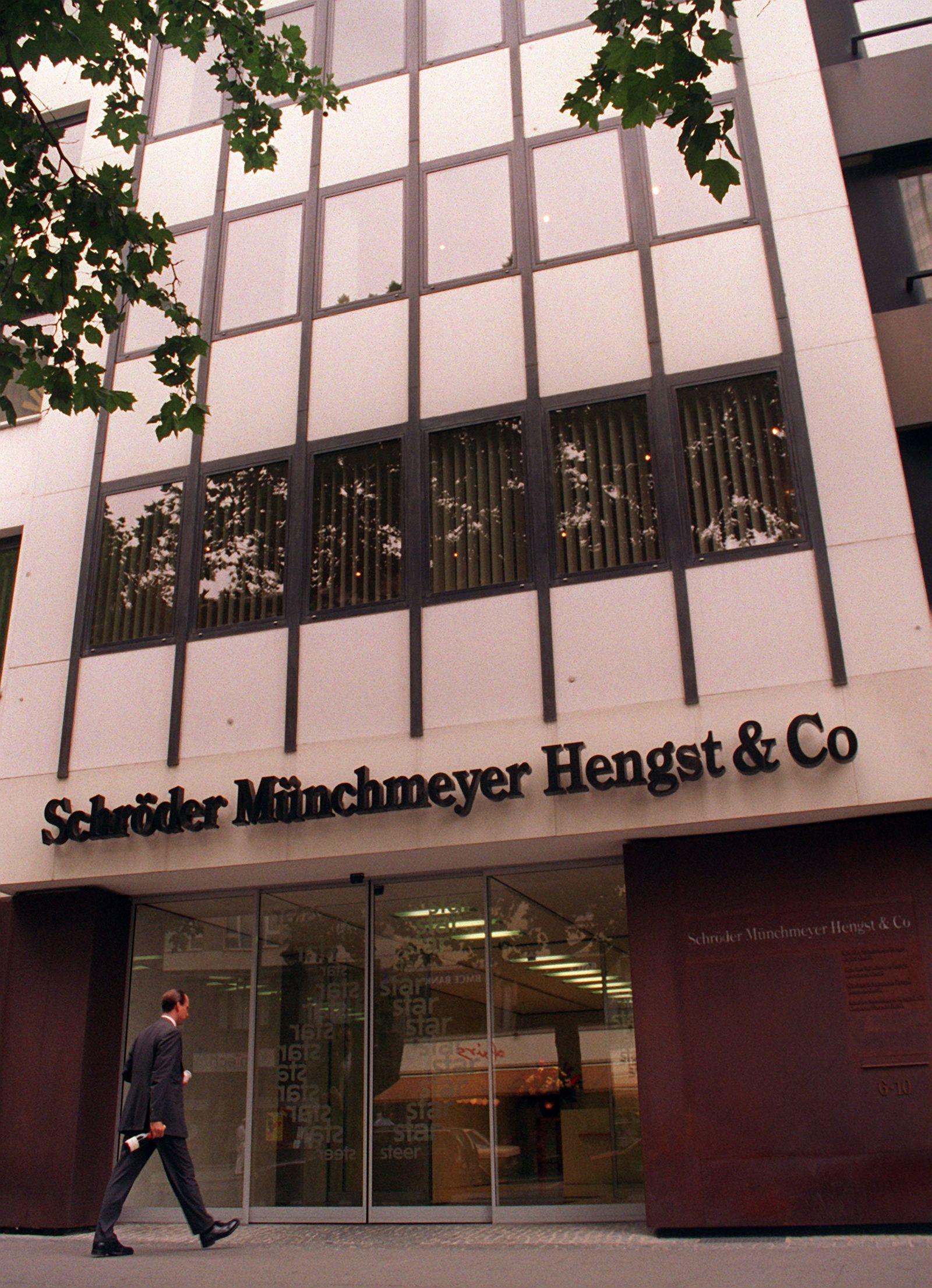 Außenansicht Schröder Münchmeyer Hengst & Co