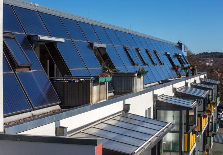 Solarthermie-Anlage in Thüringen: Alternative Heiztechniken lohnen sich kurzfristig nur mit Fördergeldern