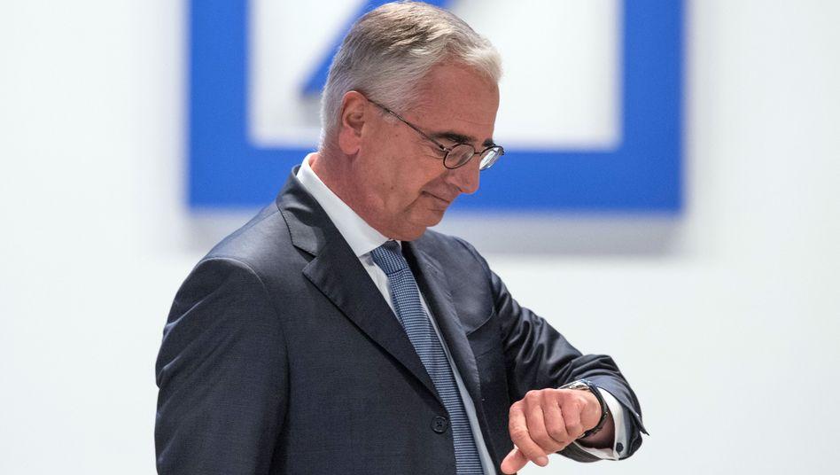 Ende einer Amtszeit: Im Mai 2022 wird Paul Achleitner sein Amt als Chefaufseher der Deutschen Bank aufgeben