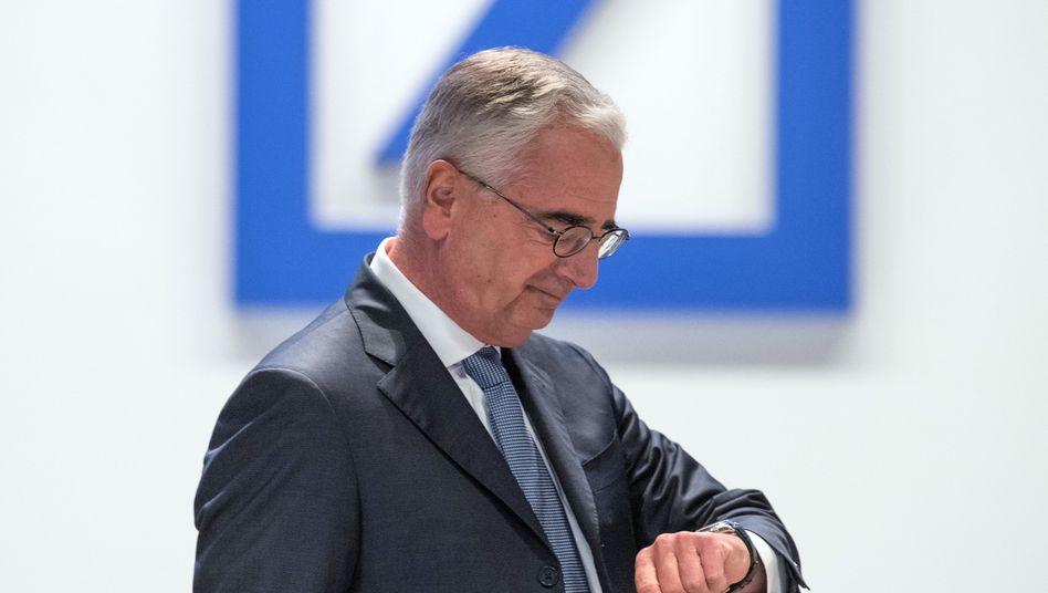 Time to say goodbye? Deutsche-Bank-Aufsichtsratschef Paul Achleitner will im kommenden Jahr abtreten