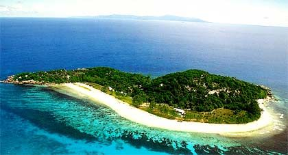 Cousine Island, Seychellen, Größe: 300.000 Quadratmeter, Mietpreis: 1400 US-Dollar pro Tag