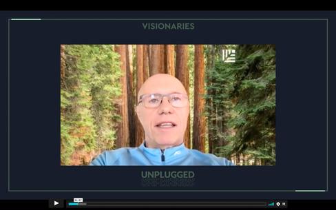Sequoia-Chef Doug Leone bei der Veranstaltung des Investors Visionaries Club