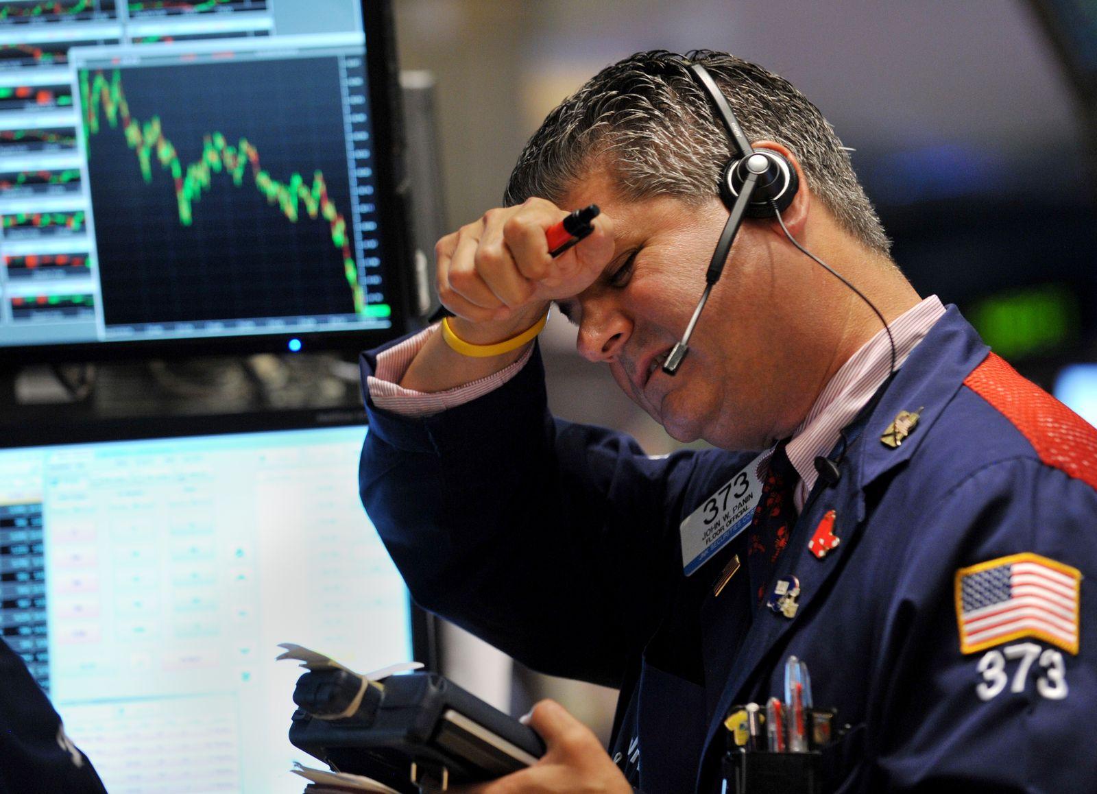 Aktien Börse Talfahrt
