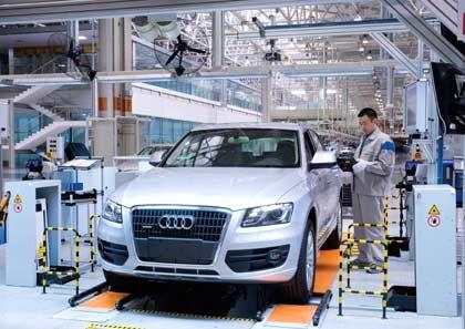 Montage in China: Audi verzeichnet in Fernost starkes Wachstum