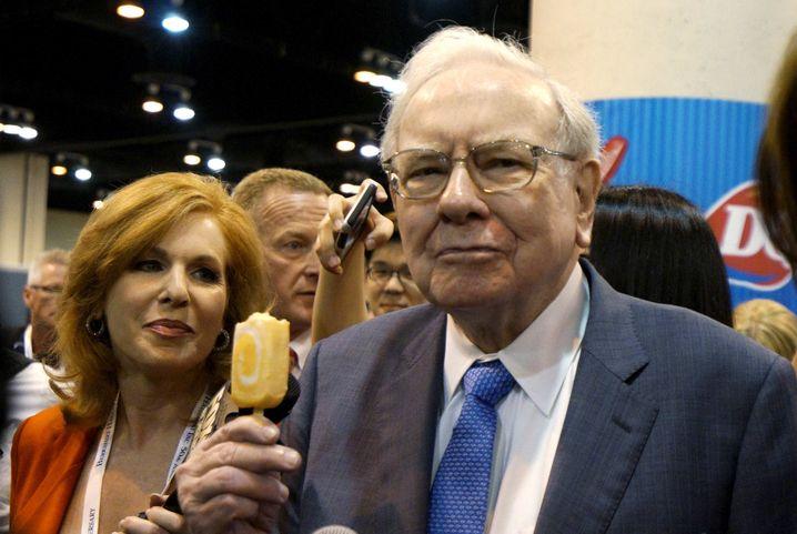 Es gibt Eis: Buffett Ernährungsgewohnheiten hat er selbst einmal als die eines Sechsjährigen bezeichnet.