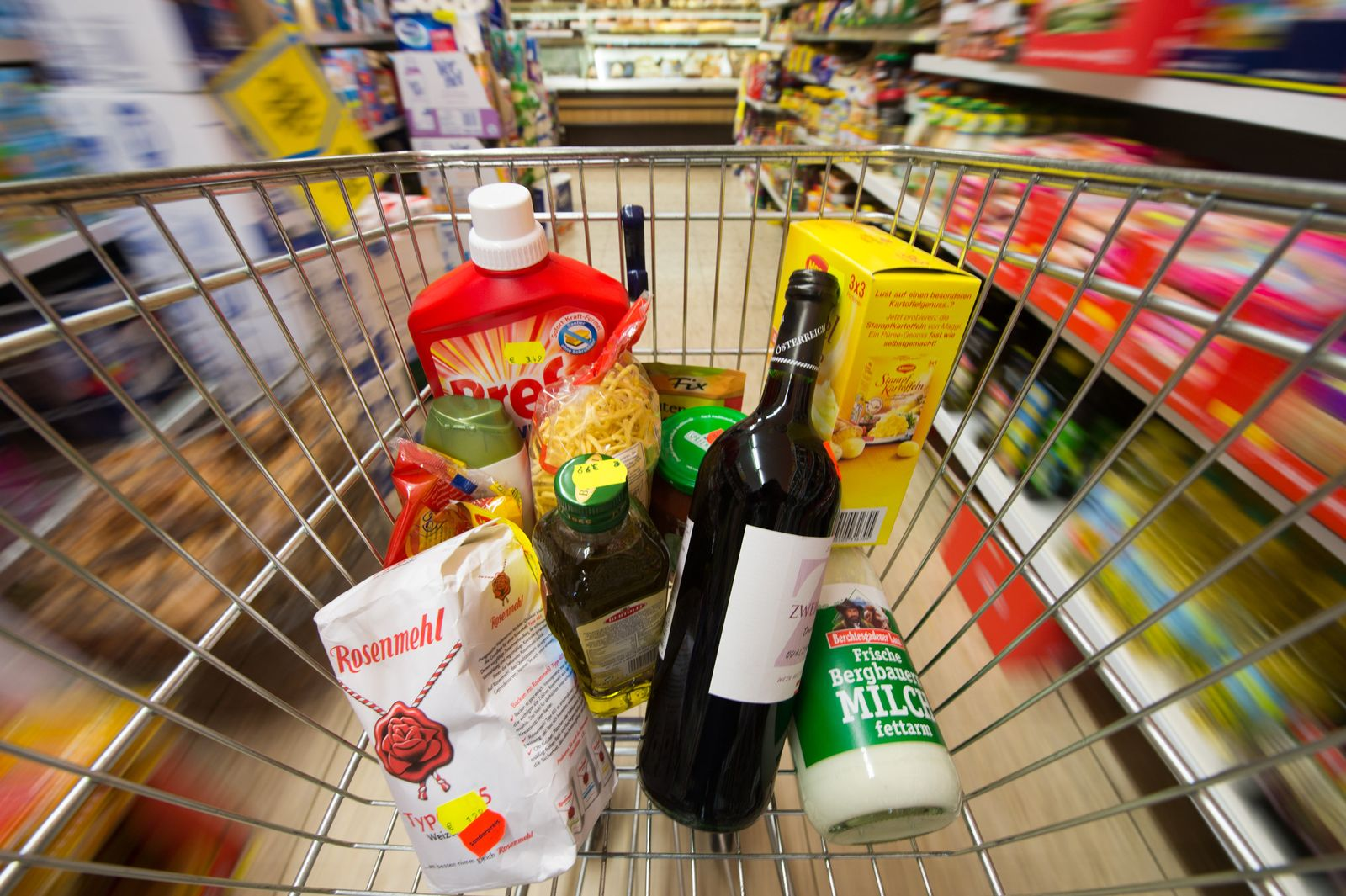 Niedrige Inflation