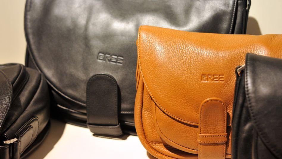 Schon etwas ältere Modelle des Taschenherstellers Bree