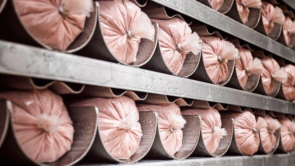 """Vegetarische Würste bei Rügenwalder: """"Es ist an der Zeit, mal 50 Prozent weniger Tiere zu essen"""", sagt Firmenchef Godo Röben. Knapp 40 Produkte des Produkt-Angebotes sind bereits vegetarisch"""