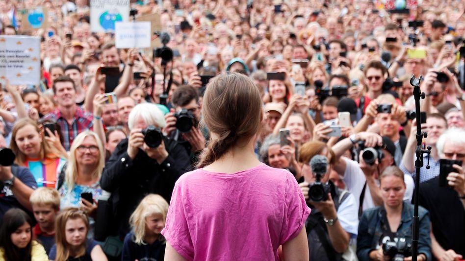 "Greta Thunberg bei ""Fridays for Future"" in Berlin"