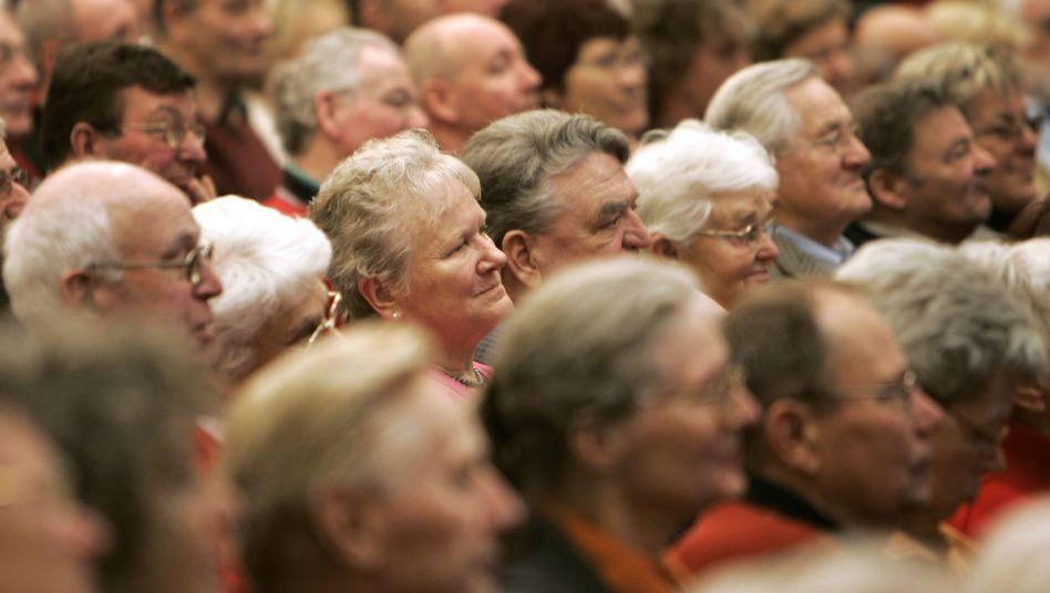 Rentner: 20,7 Prozent der Deutschen sind über 65 Jahre alt