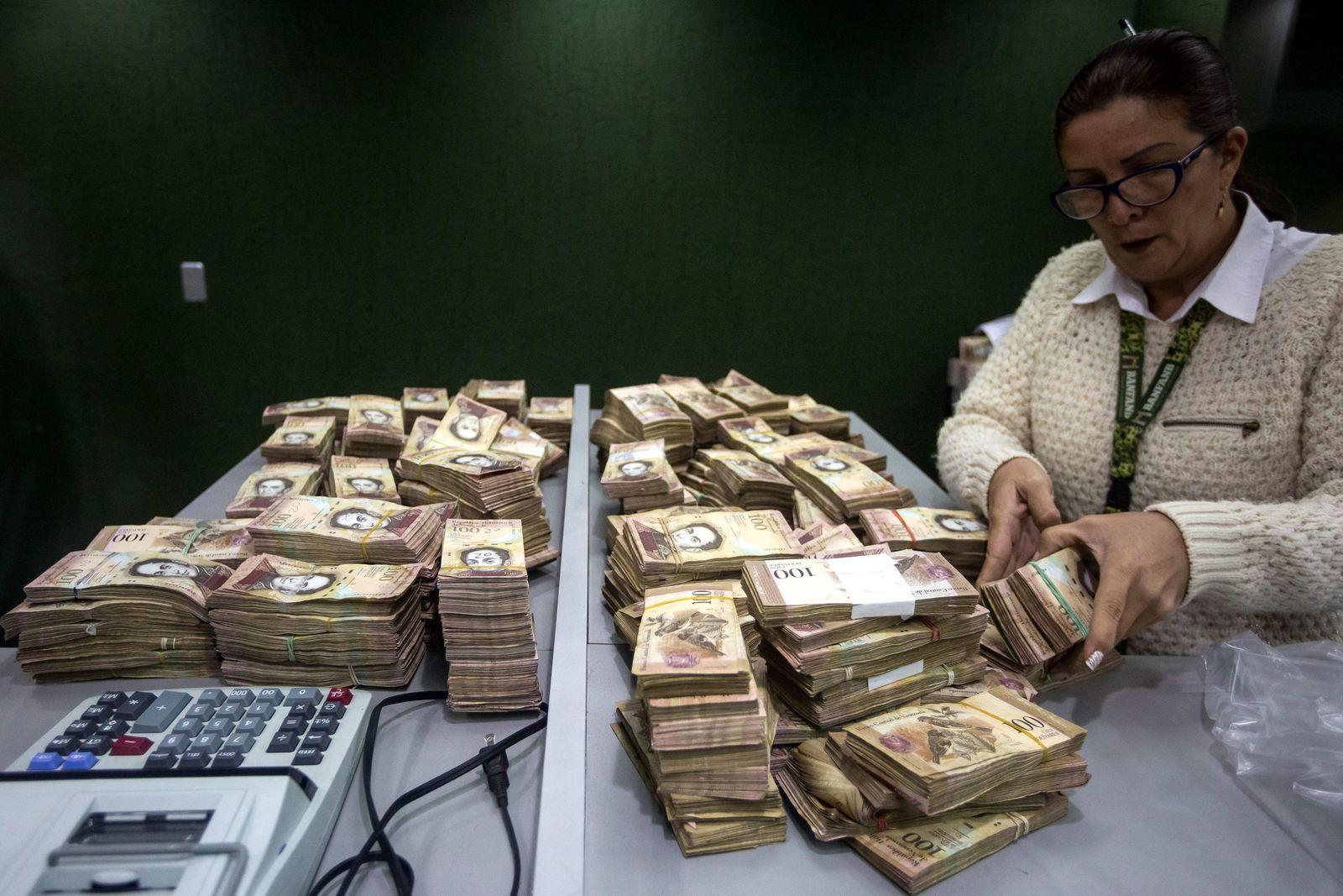 Venezuela / Bolivar / Geld / Scheine