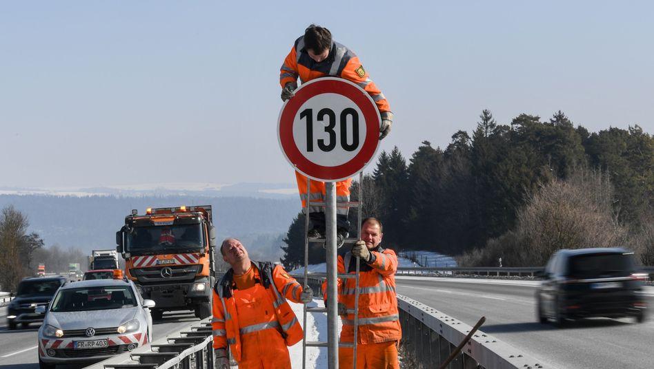 130 flächendeckend auf deutschen Autobahnen? Die Bundesregierung lehnt das ab