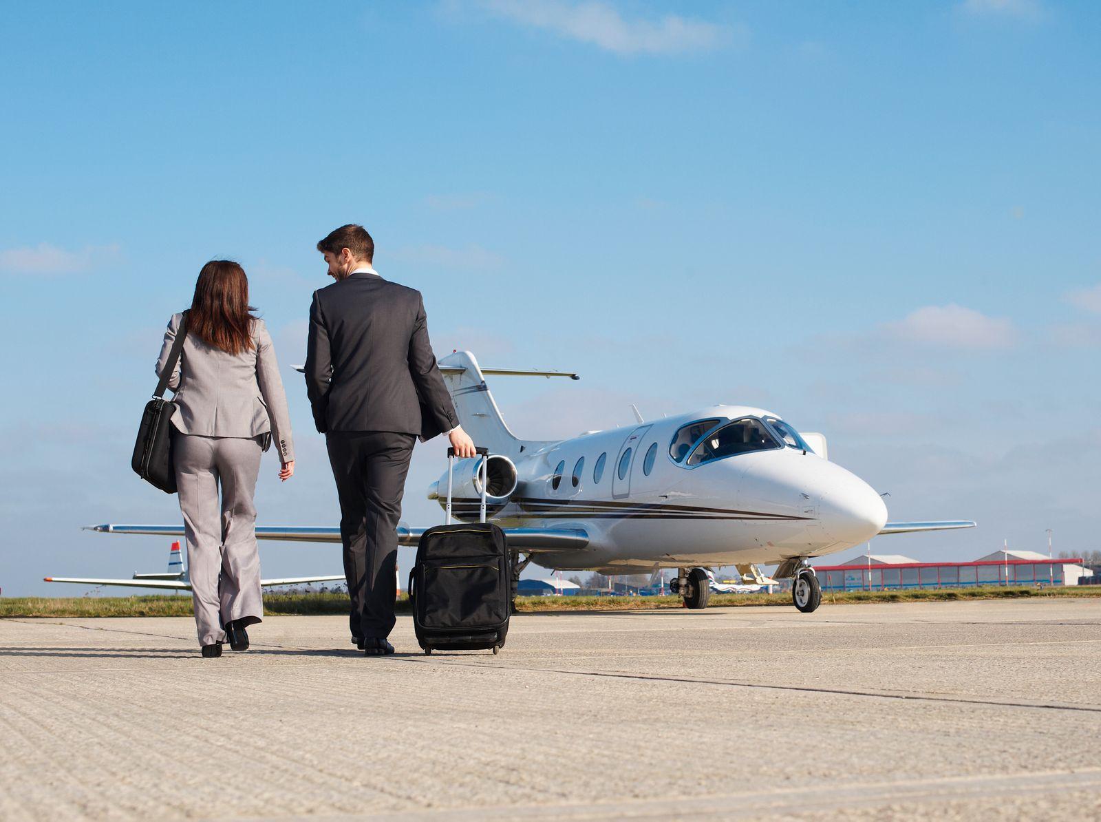 SYMBOLBILD Geschäftsreise / Cessna