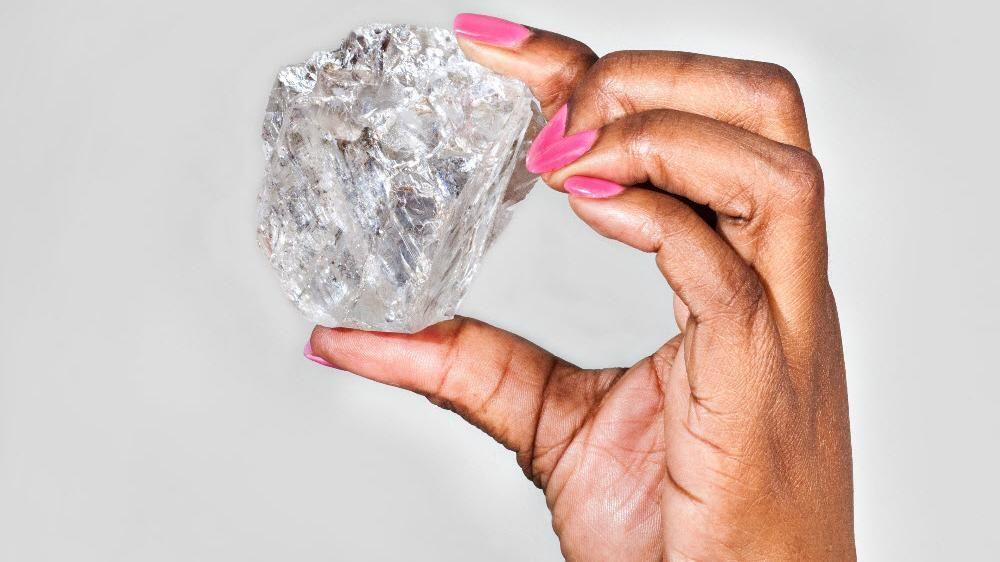 Diamant gefunden