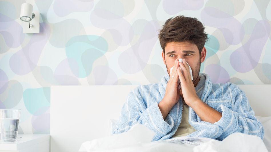 Wer krank ist, gehört ins Bett - doch wer mehr als sechs Wochen pro Jahr Zuhause bleibt, riskiert seinen Job