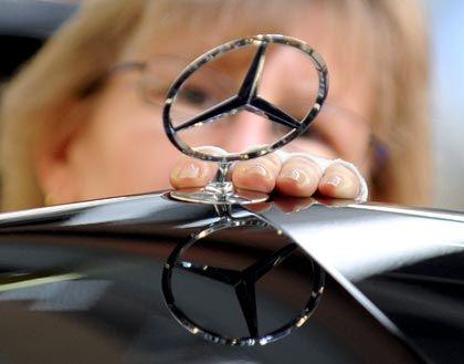 Im Aufwärtstrend: Daimler steigert seine Absatzzahlen