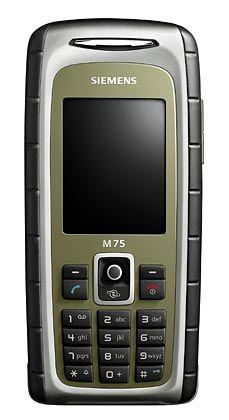 Martialisch: Siemens M75 Outdoor