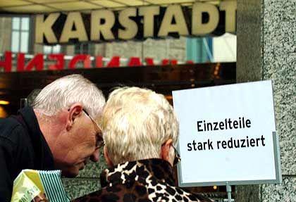 Karstadt-Filiale: Auch die Aktie scheint derzeit günstig