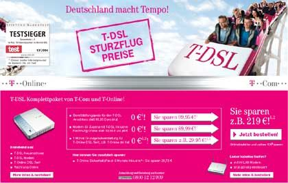 Hoffnungsträger Breitband: Mit VDSL will die Telekom ihre Verluste im Festnetzgeschäft kompensieren