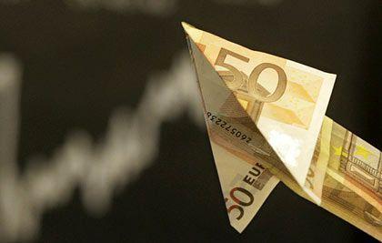 Euro hebt ab: Die Währung hat am Mittwoch mit 1,3784 Dollar ein Rekordhoch markiert