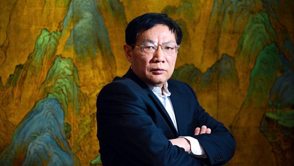 Ren Zhiqiang (Archivbild von 2012 aus dem Vorstandsbüro)