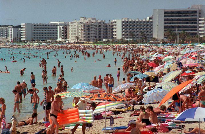 Mallorca: Strand bei Cala Millor