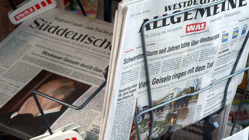 Westdeutsche Allgemeine Zeitung: Nachfolgestreit spitzt sich zu