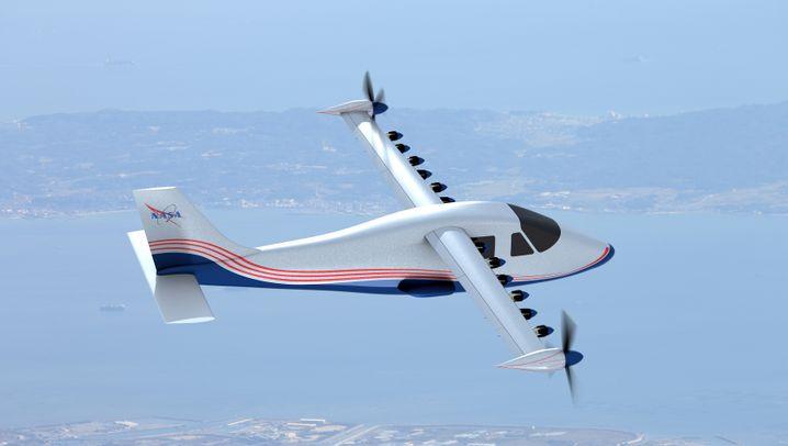 In Bildern: Der Nasa-Elektroflieger und seine Konkurrenz