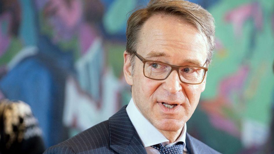 Jens Weidmann, Präsident der Bundesbank, sieht die deutsche Wirtschaft auf einem guten Weg