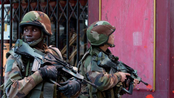 Fotostrecke: Schüsse bei Anti-Terror-Einsatz