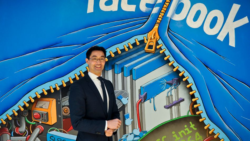 Gibt sich gerne als Start-up-Minister: Philipp Rösler auf seiner Silicon-Valley-Reise im Mai 2013