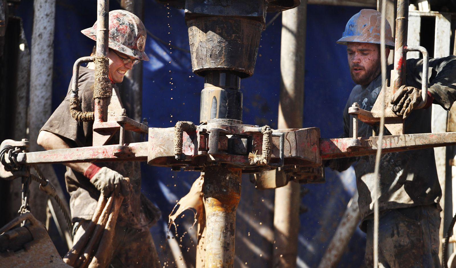 Gasbohrung / Fracking