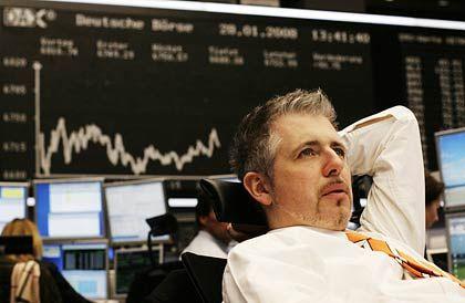 Harte Zeiten für Börsianer:Das Wochenminus beim Dax beträgt fast 3 Prozent