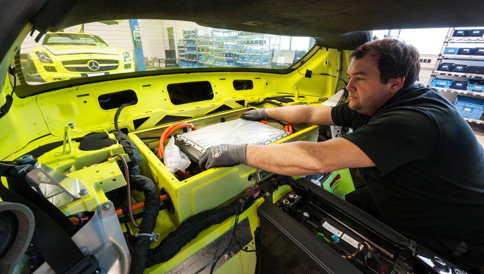 """Mercedes-Batterie: """"Wir werden wettbewerbsfähig sein"""", verspricht der Konzern"""