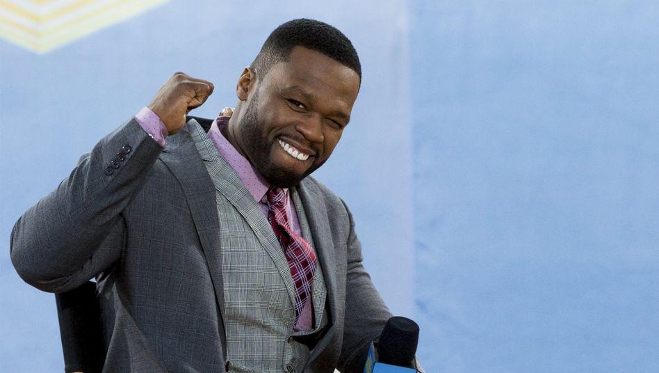 50 Cent (bürgerlich Curtis James Jackson III)