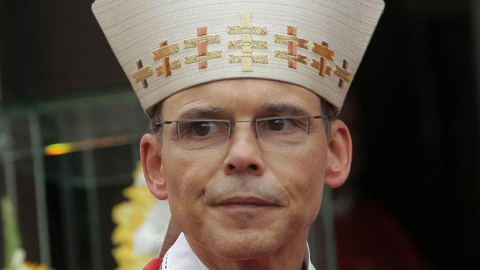 Bischof Franz-Peter Tebartz-van Elst (am 15.09.2013 in Königstein im Taunus): Zuletzt unter Druck wegen eines Bauprojekts