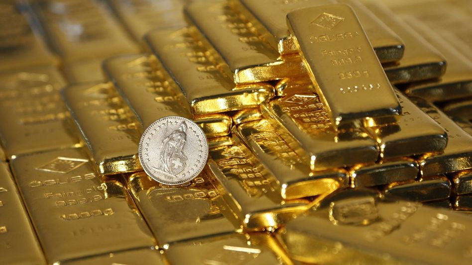 """""""Rettet unser Schweizer Gold - Volksvermögen schützen"""": Die Eidgenossen stimmen über ihre Goldreserven ab - mit womöglich heftigen Verwerfungen"""