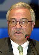 Vorstandsvorsitzendre der Deutschen Bank, Rolf Breuer