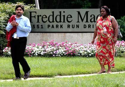 Trügerische Idylle: Vor der Konzernzentrale von Freddie Mac blühen die Blumen, drinnen kämpft das Management gegen die Zahlungsunfähigkeit