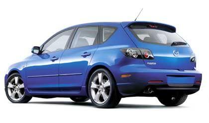 Fast schon auf dem Markt: Der aggressiv gestylte Mazda 3 ersetzt ab der IAA den biederen Vorgänger 323
