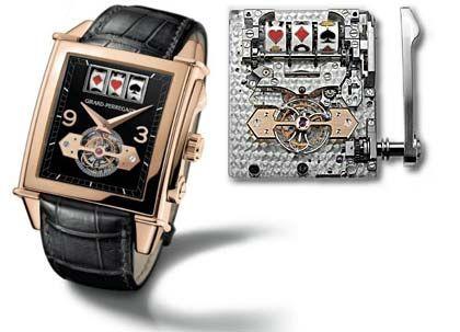 """Die Uhr für den Spieler: """"Vintage 1945 Jackpot-Tourbillon"""" von Girard Perregaux"""