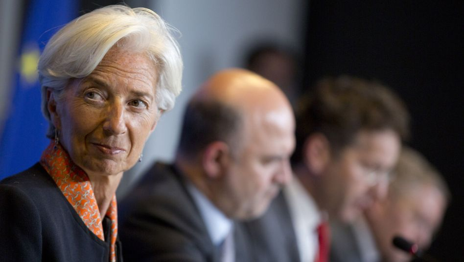 IWF-Chefin Lagarde: Dialog nur mit Erwachsenen