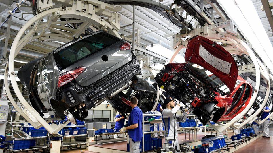 VW Werk in Wolfsburg: Volkswagen hat seinem Zulieferer Prevent gekündigt