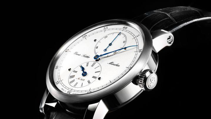 Erwin Sattler: Luxusuhren im Großformat
