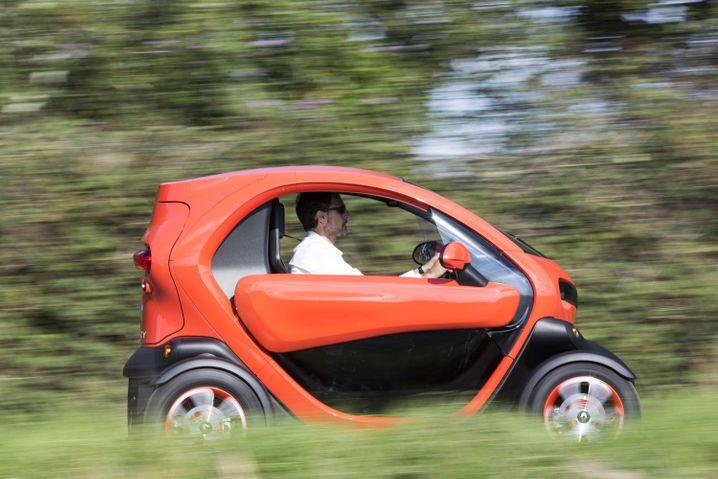 Das günstigste Elektroauto ist derzeit der Renault Twizy ab 6950 Euro.